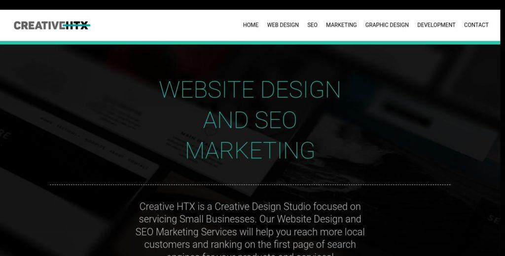 Homepage of Creative HTX :SEO Company Houston Pros https://www.creativehtx.com/