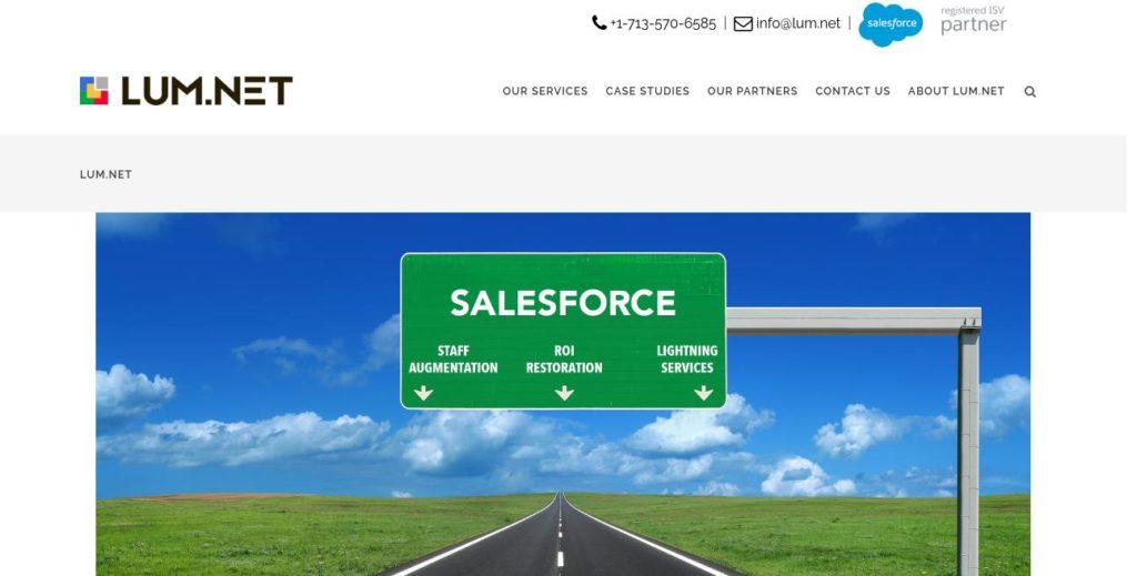 Homepage of lum.net https://lum.net/