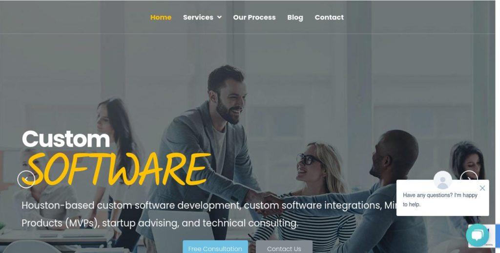 Homepage of Octaria https://octaria.com/