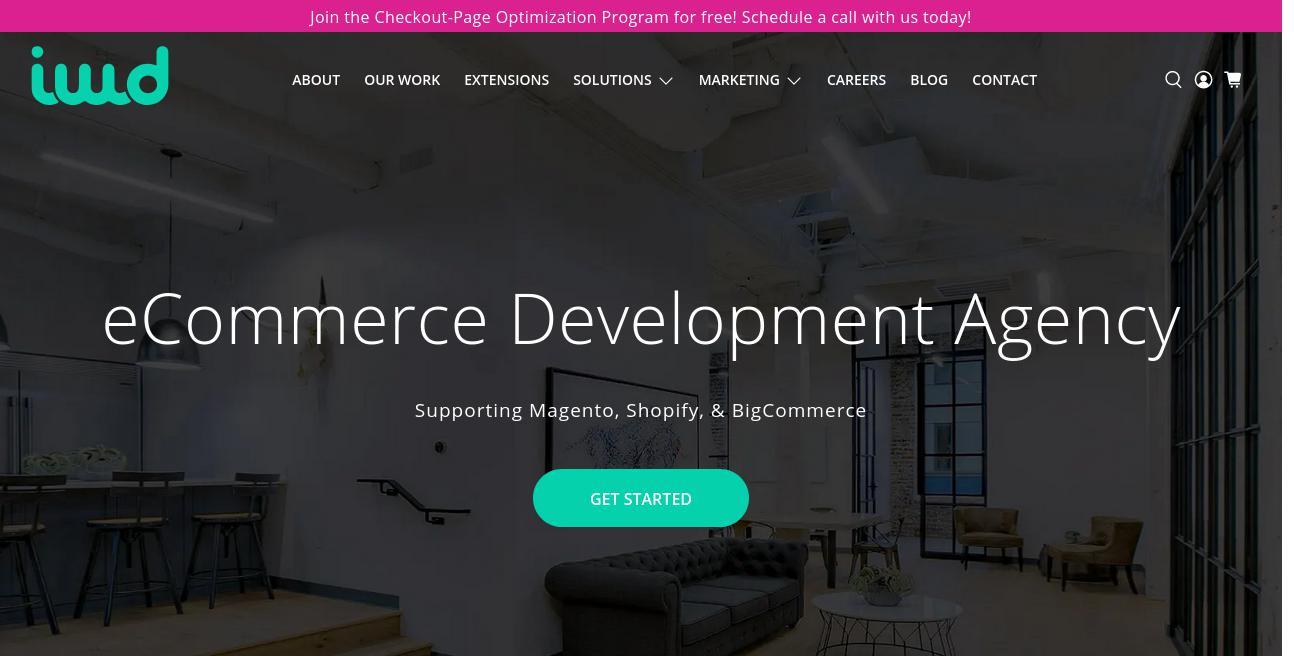 IWD Agency website