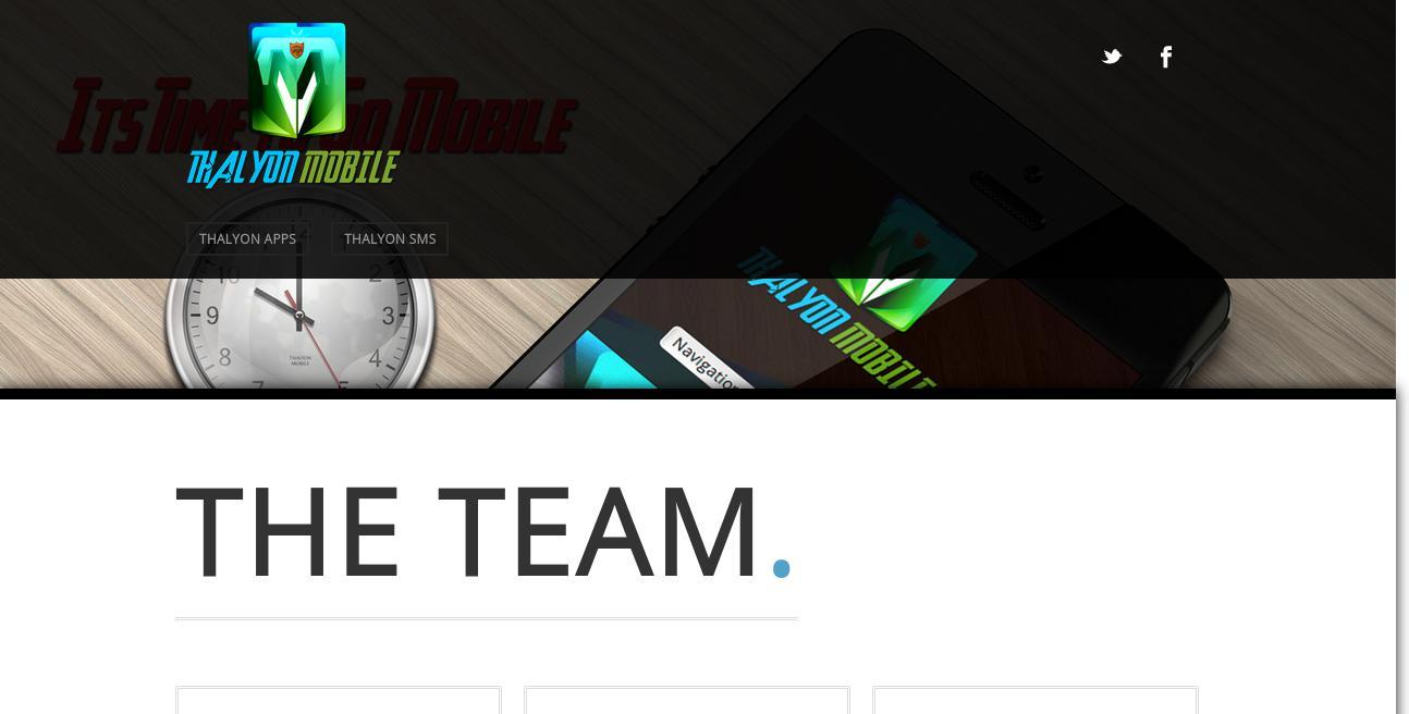 Thalyon Marketing Group website