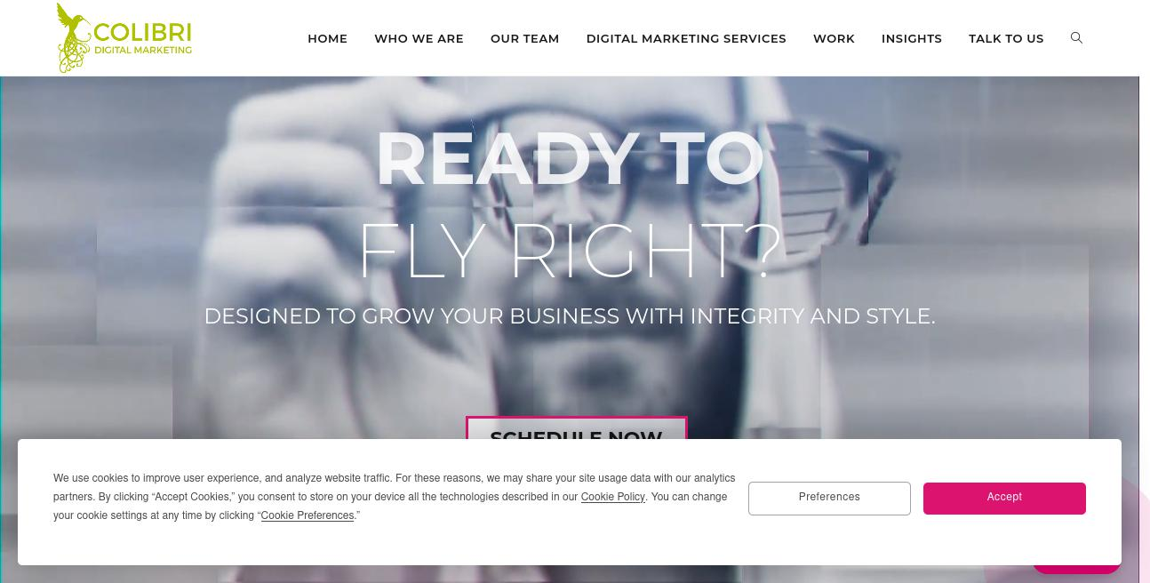 Colibri Digital Marketing website
