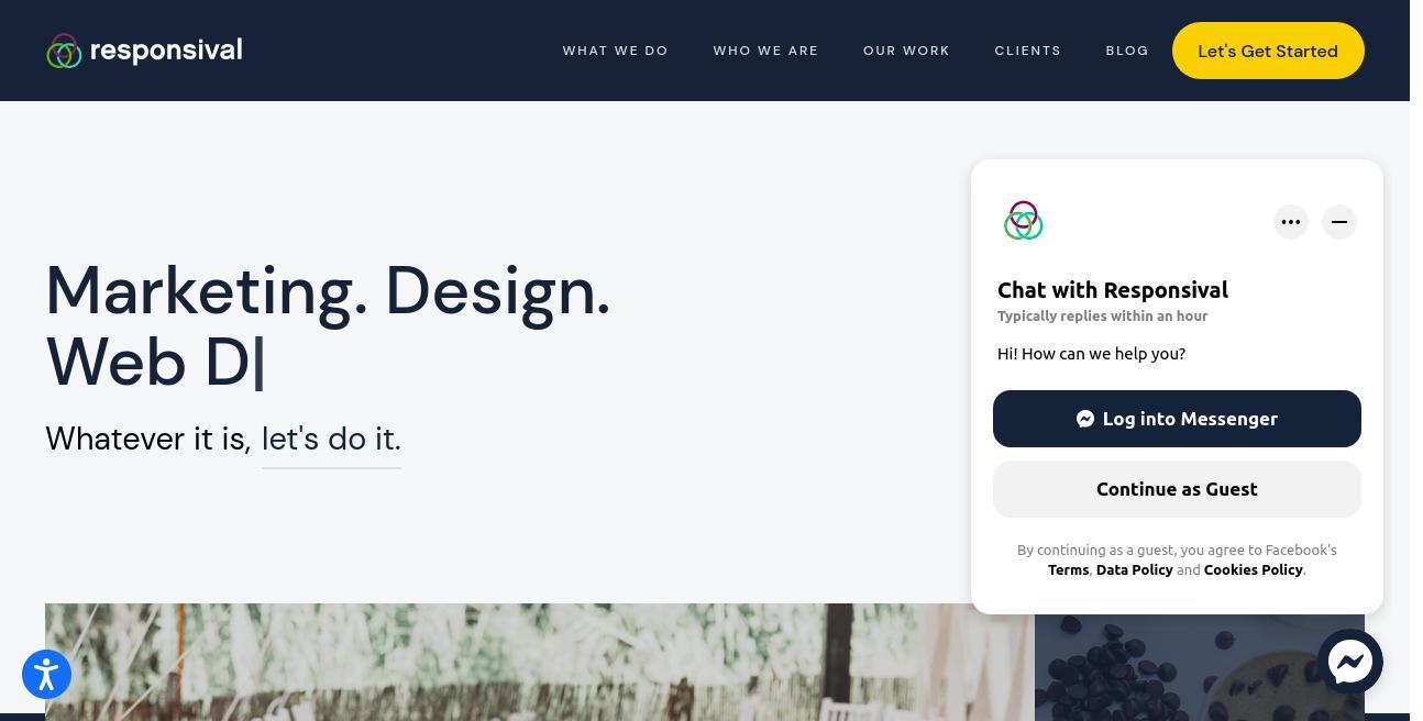 Responsival website