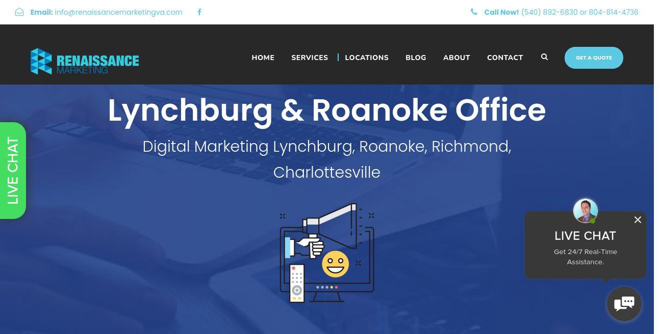 Renaissance Marketing website