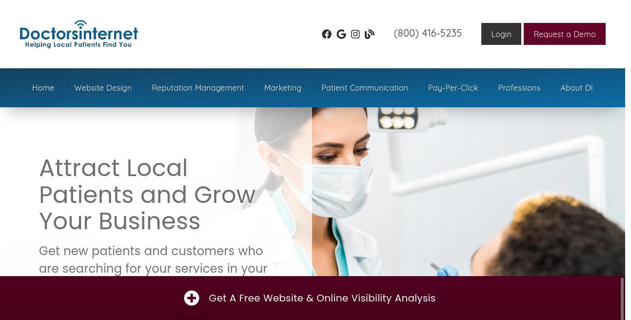 Doctors Internet website