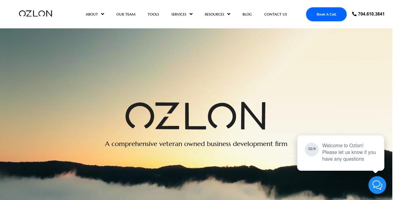 Ozlon website