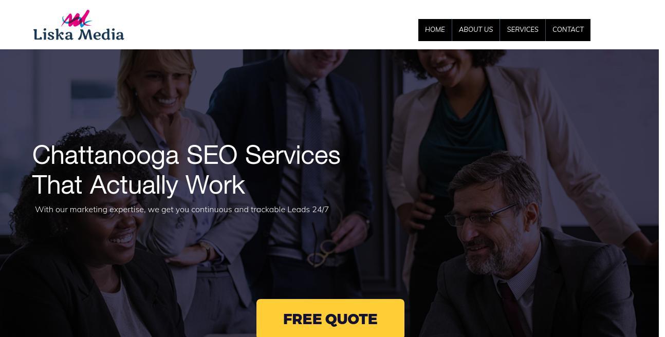 Liska Media Digital Marketing website