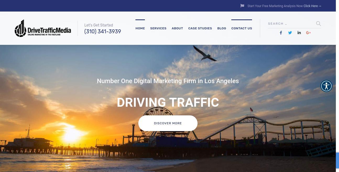 Drive Traffic Media website