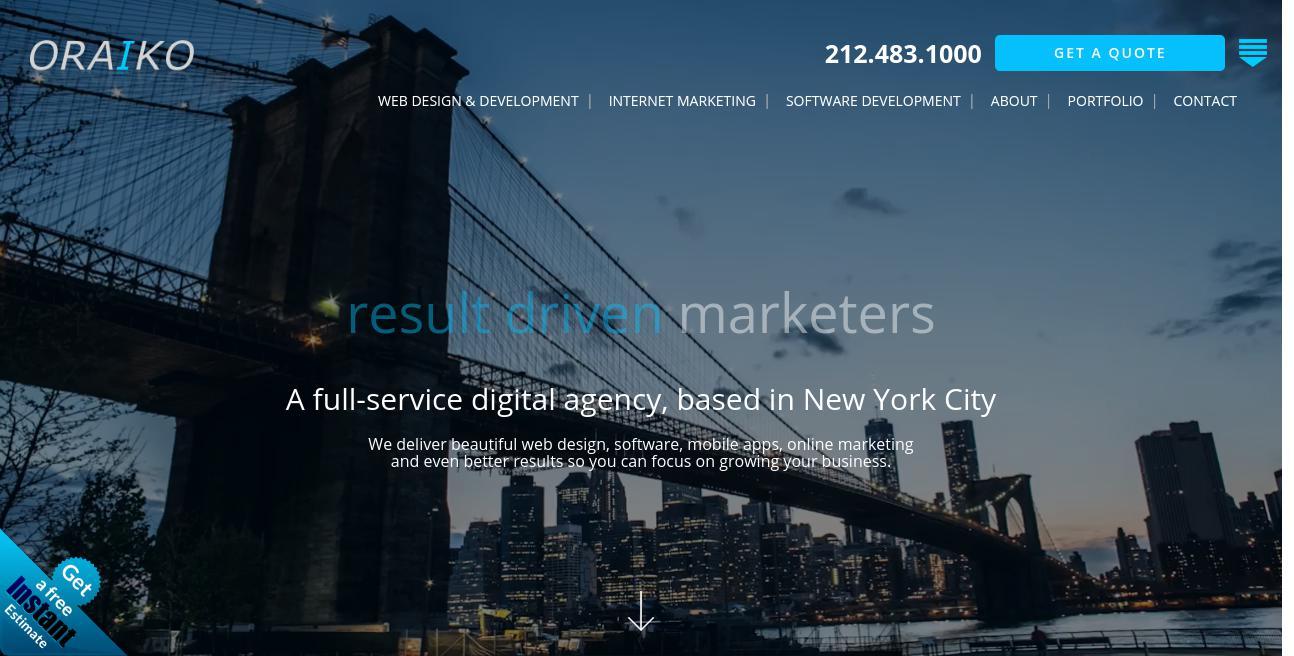 Oraiko website