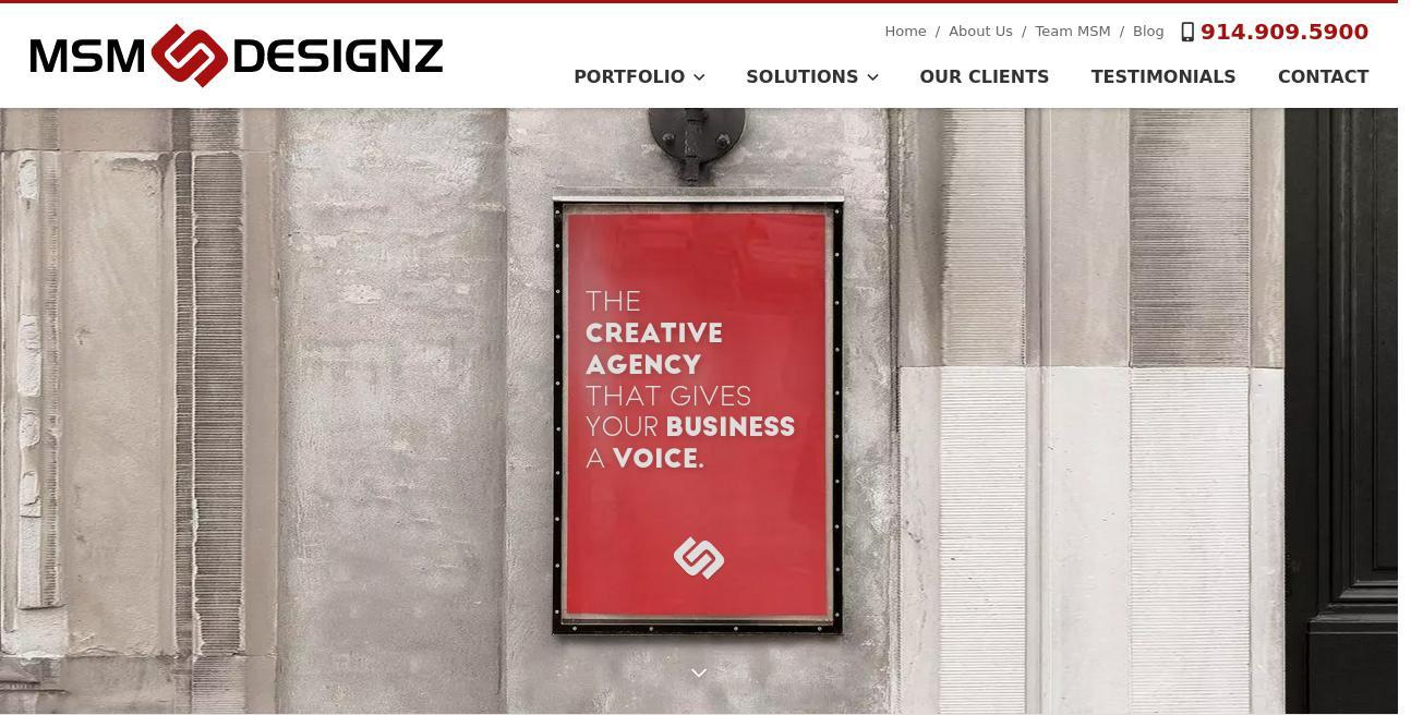 MSM DesignZ website