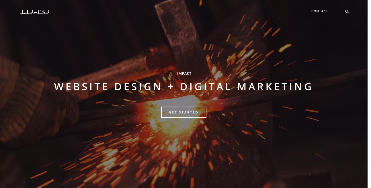 Impakt Digital website