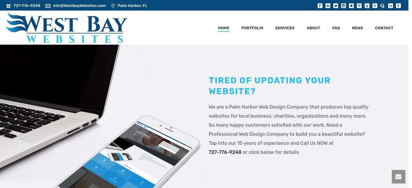 Go2 Social Marketing website