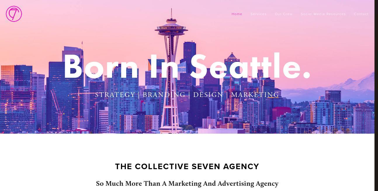 Collective Seven website