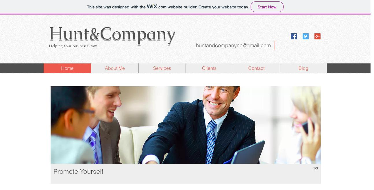 Hunt & Company website