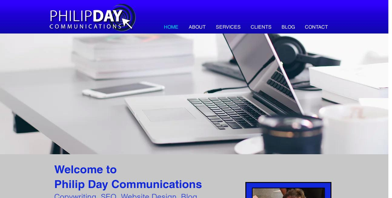 Philip Day Communications website