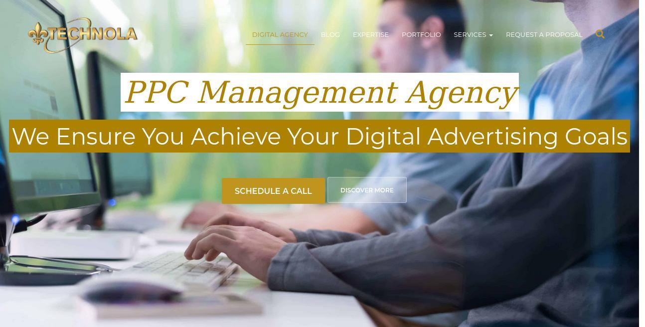 TechNola Visual Communications website