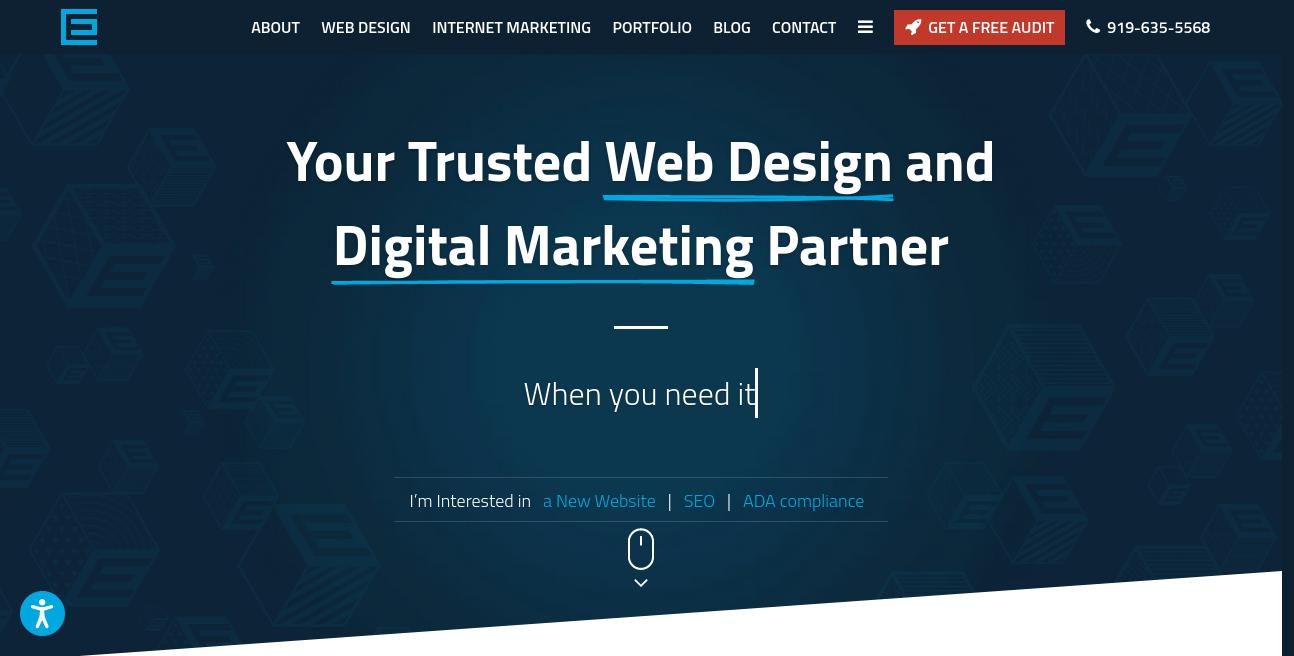 TheeDigital website