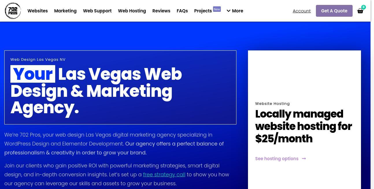 702 Pros website