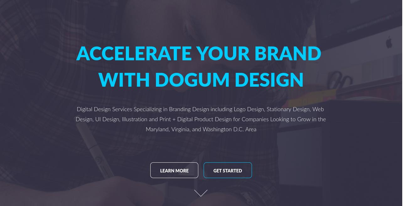 Dogum Design website