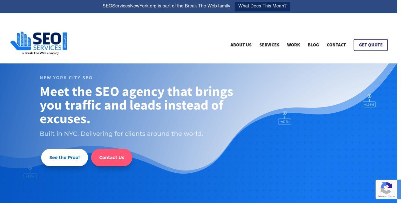 SEO Services New York website