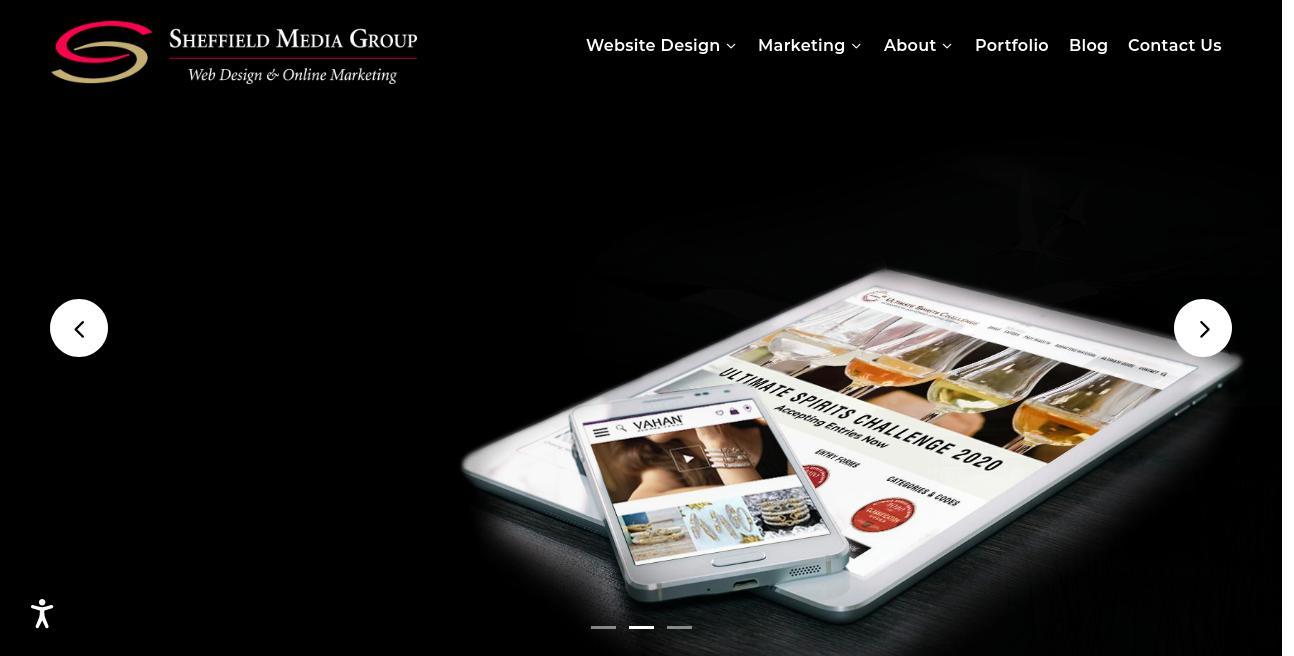 Sheffield Media Group, LLC website