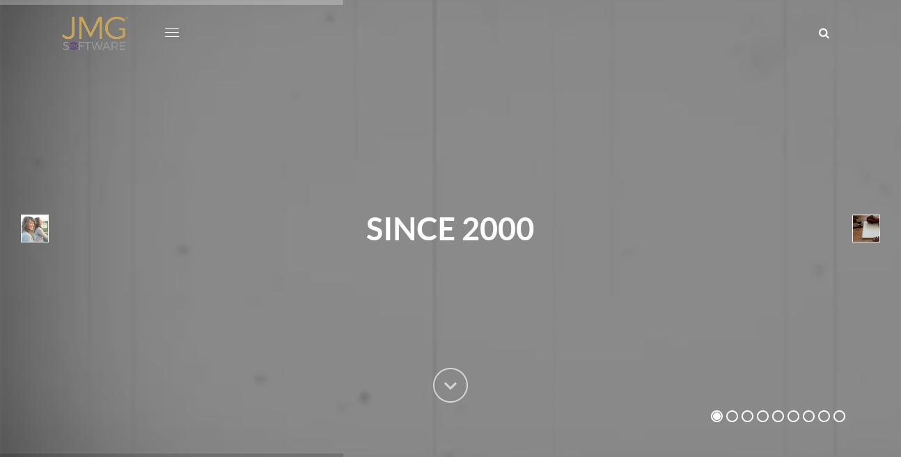 JMG Software website