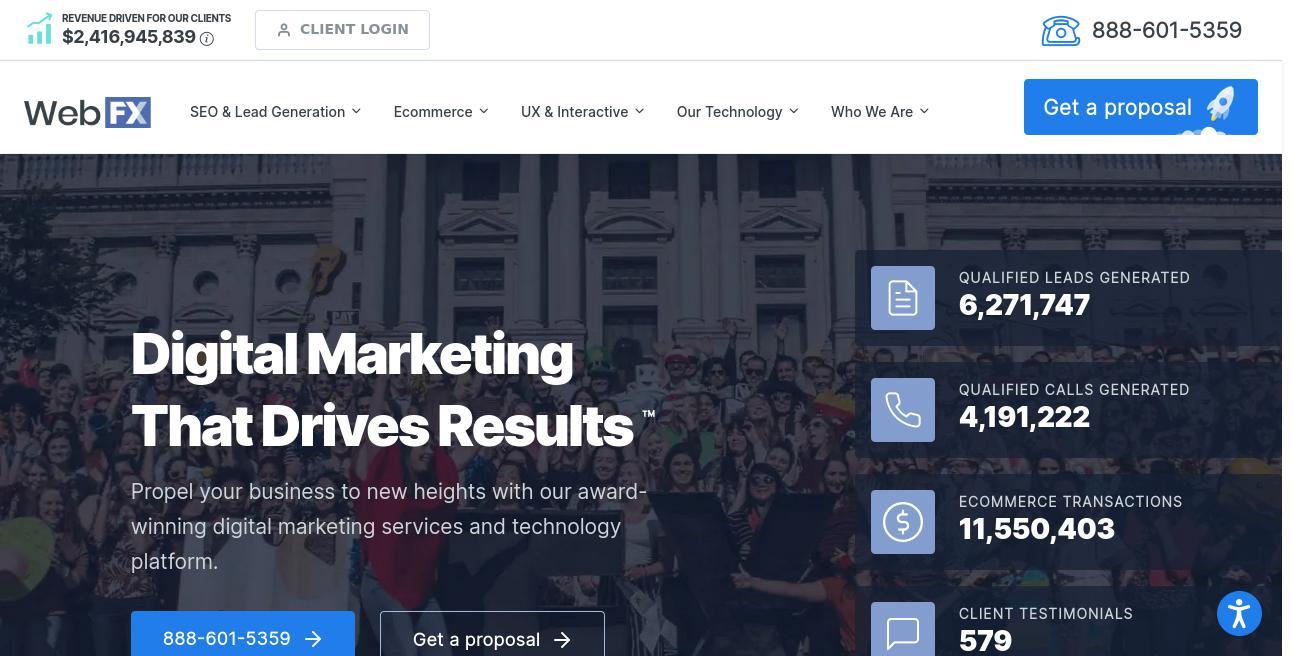 WebpageFX website