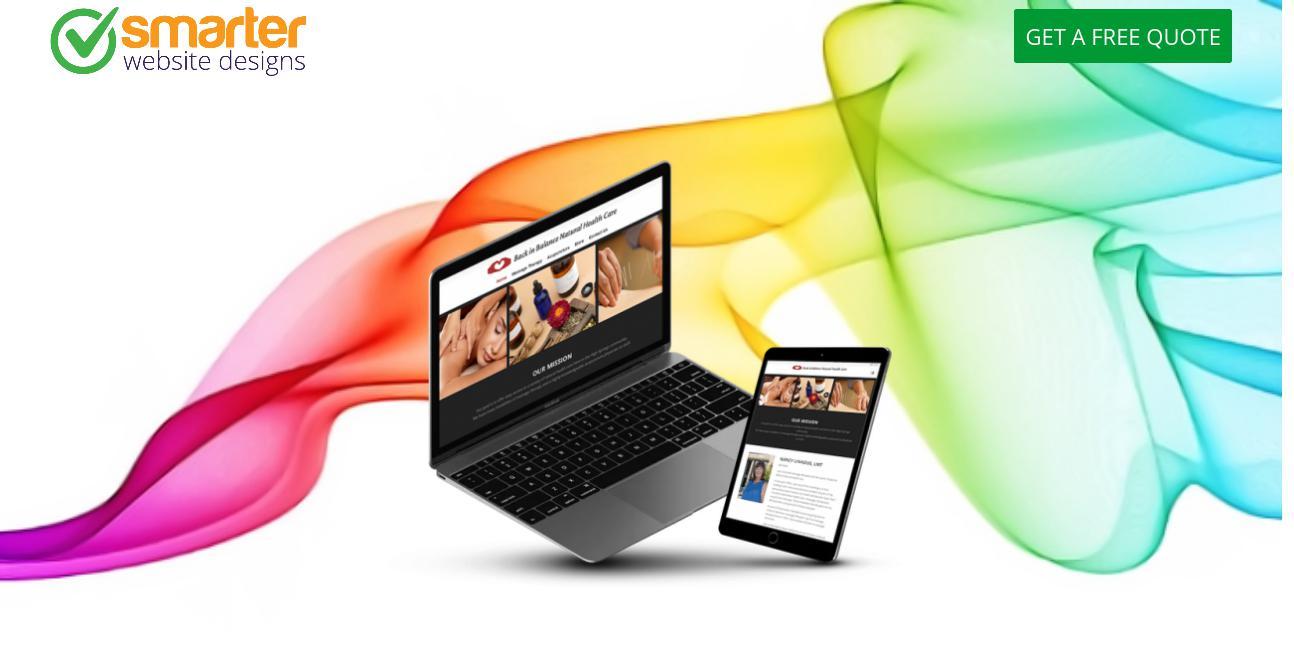 Smarter Website Designs website