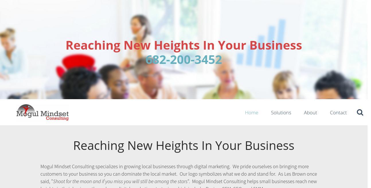 Kitchen & Bath Marketing Solutions website
