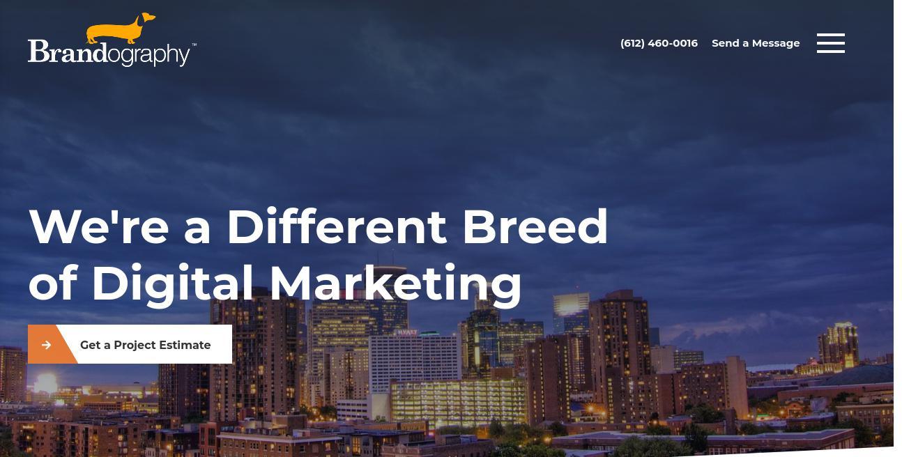 Brandography website
