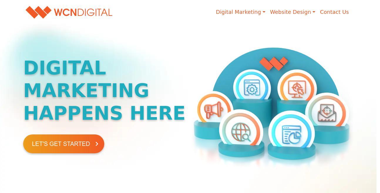 WCN Digital website