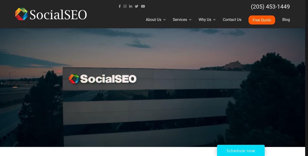 SocialSEO website