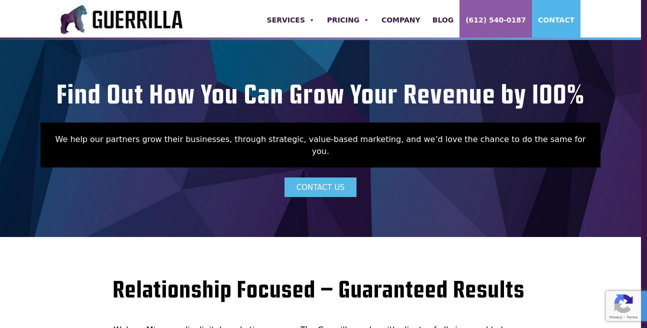 Avila Web Firm website