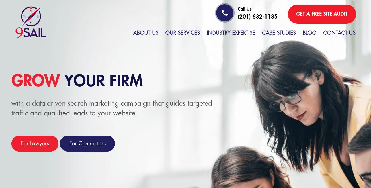9Sail website