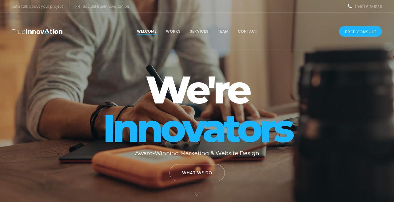 True Innovation Hawaii website