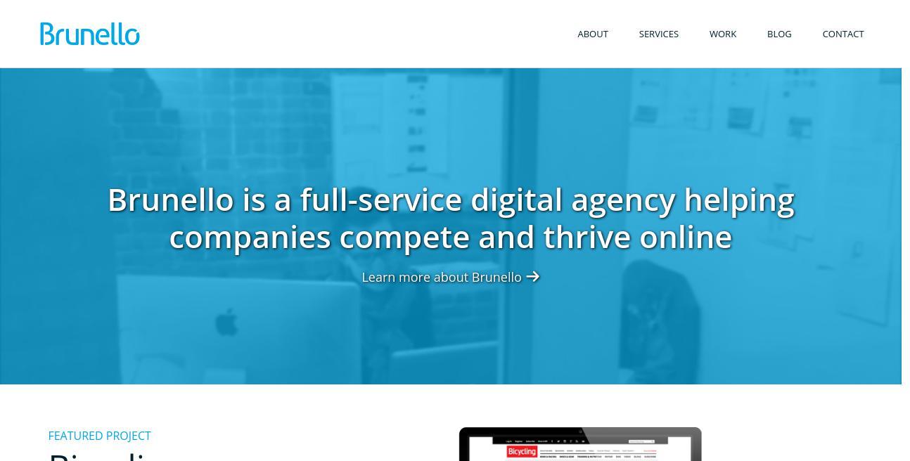 Brunello website