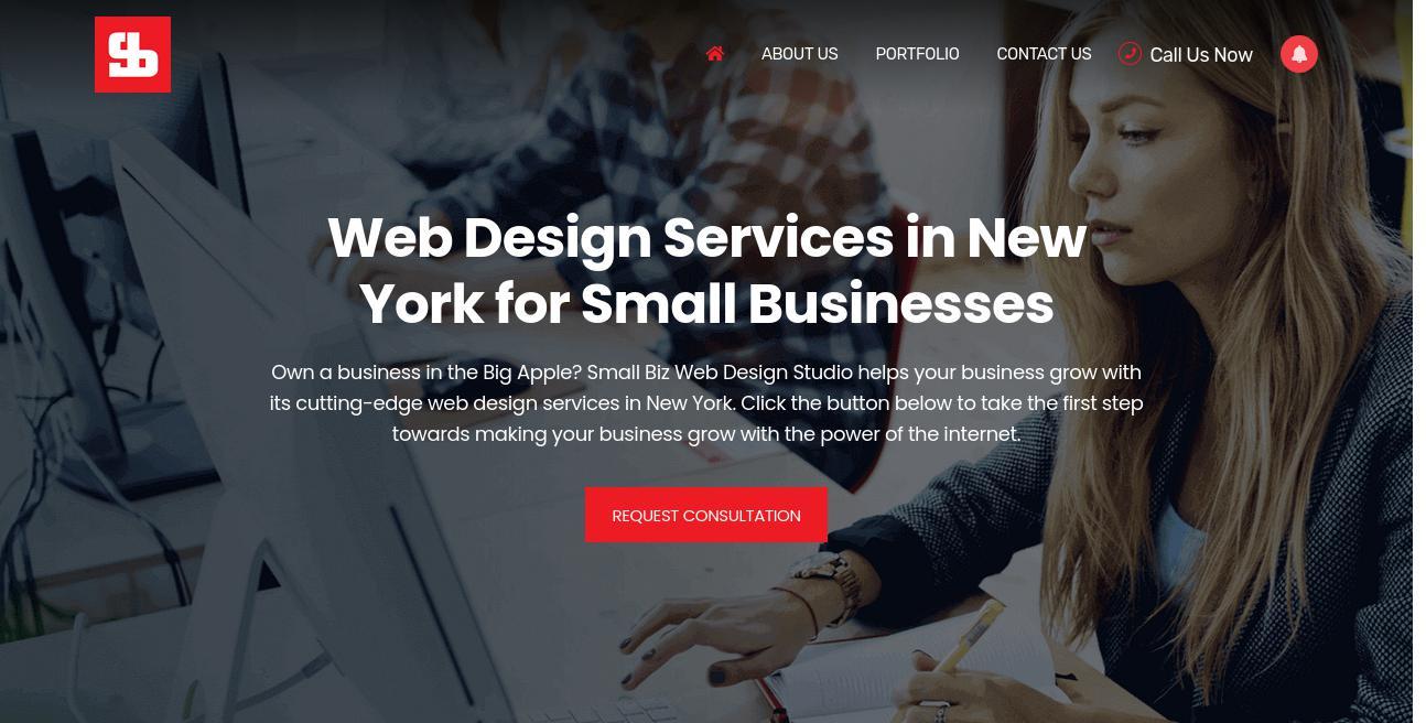 Small Biz Web Design Studio website