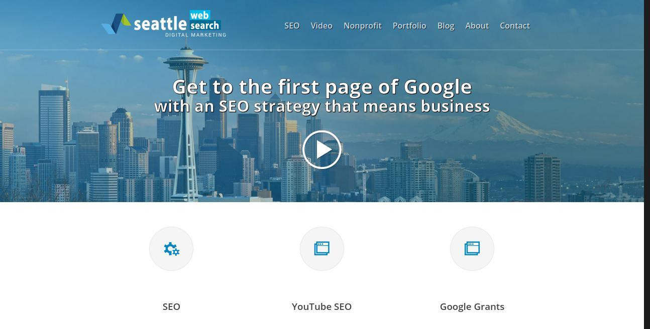 Seattle Web Search website