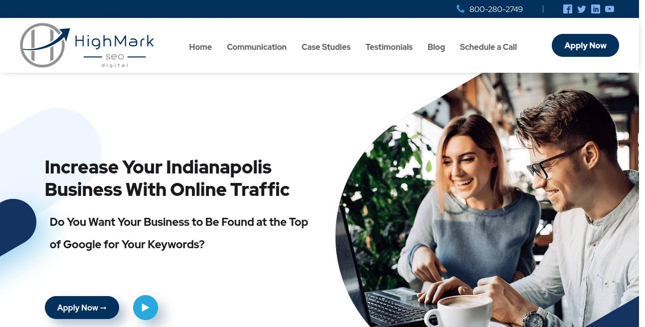 HighMark SEO Digital website
