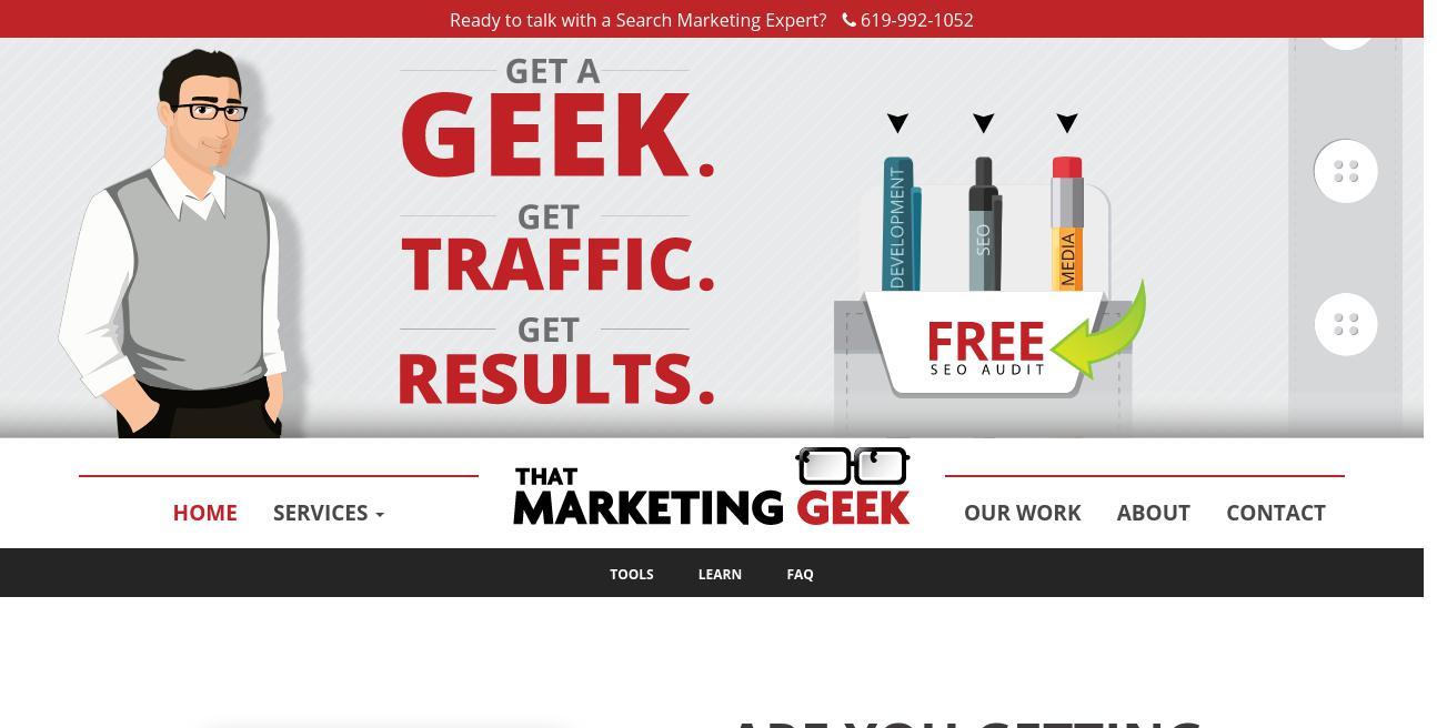 That Marketing Geek website