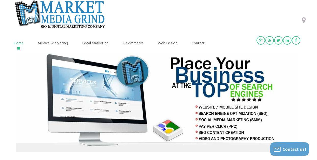Market Media Grind website