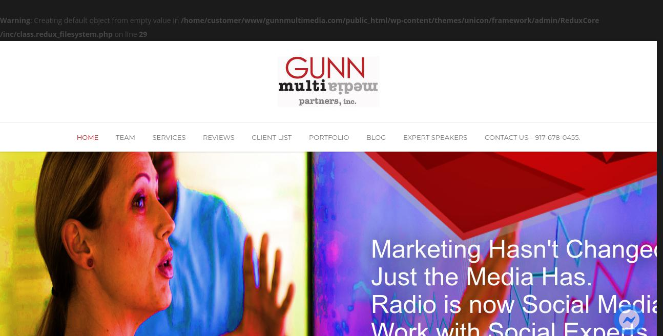 Gunn Multimedia Partners, Llc website