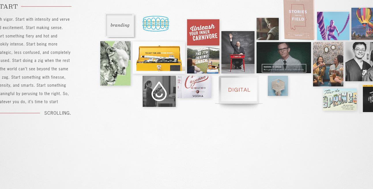 Cayenne Creative website