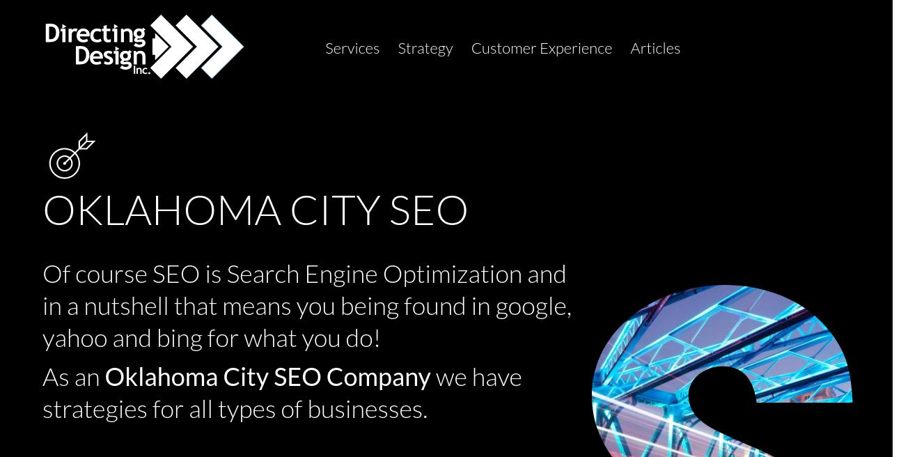 Directing Design website