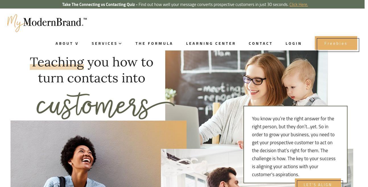 ModernMarca website