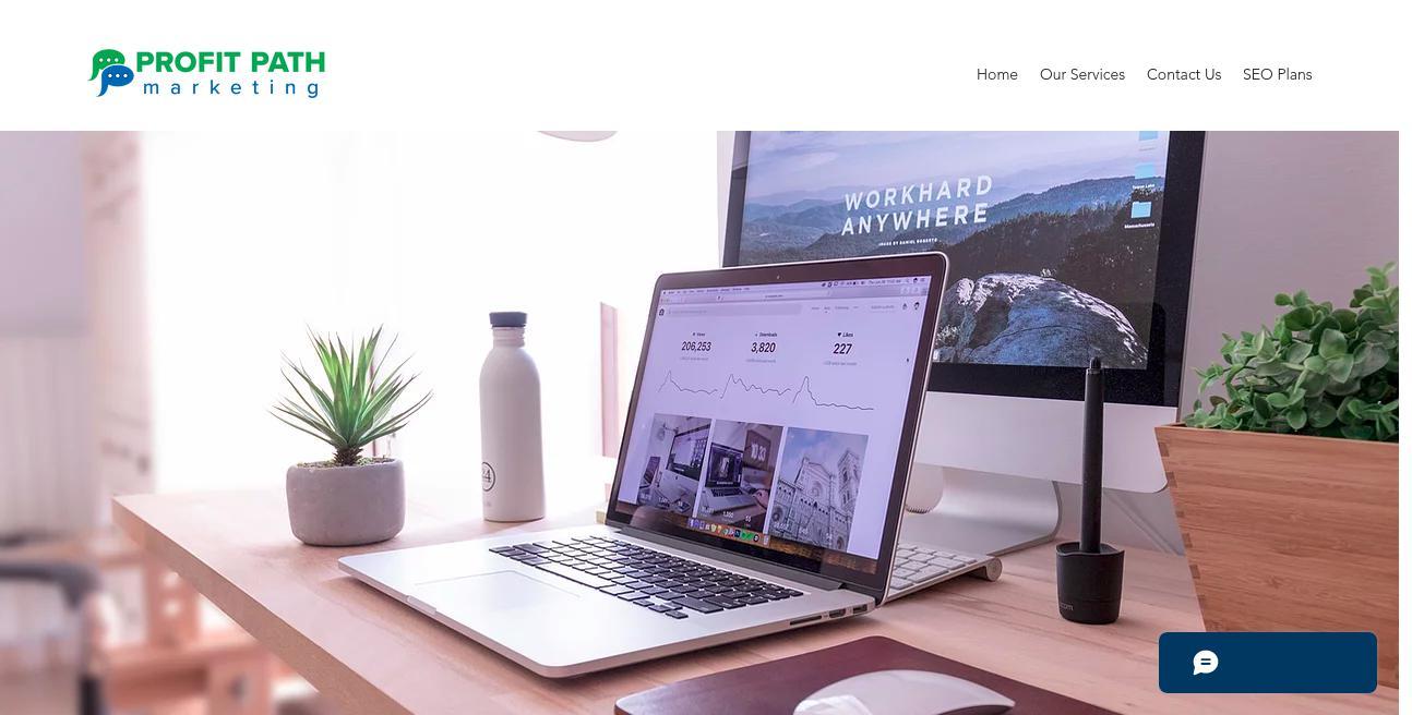 Profit Path Marketing website