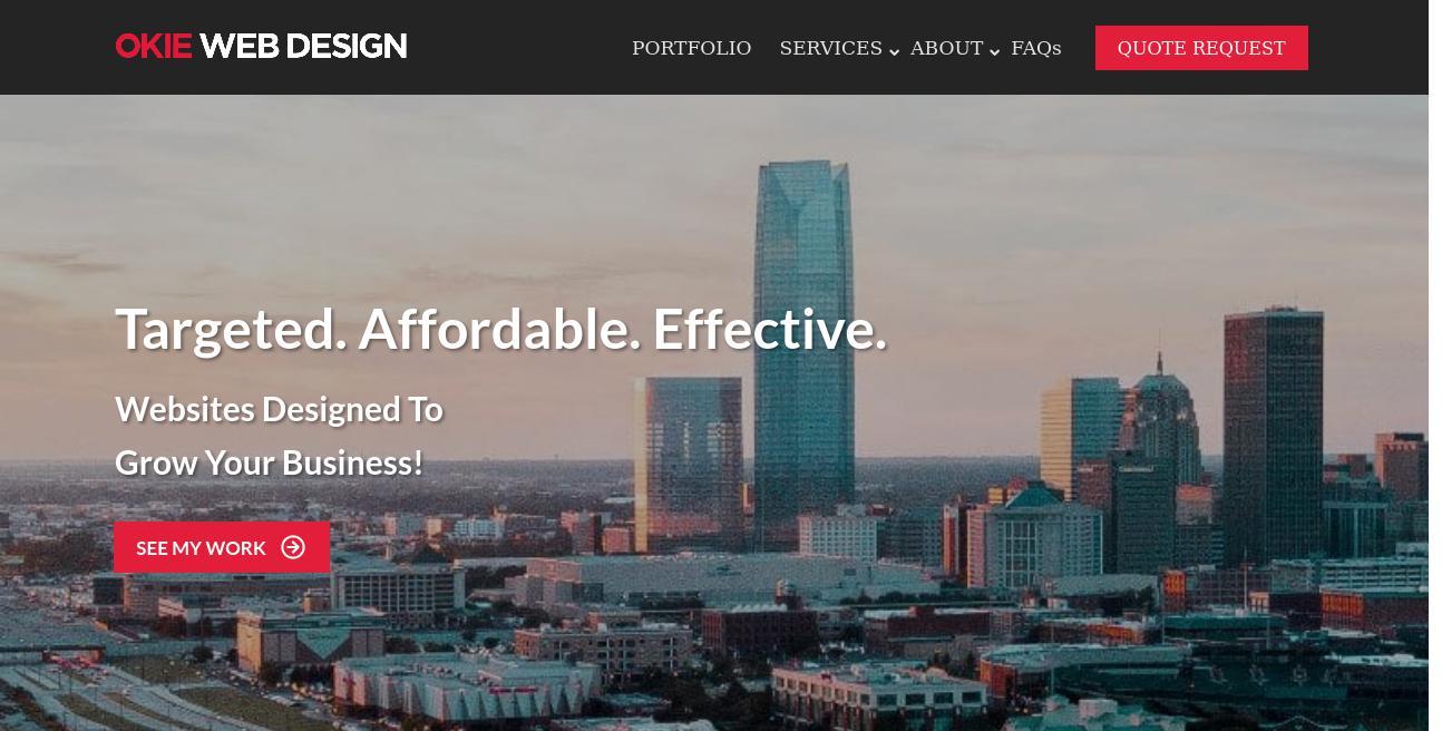 Okie Web Design website Best SEO Expert In Oklahoma City