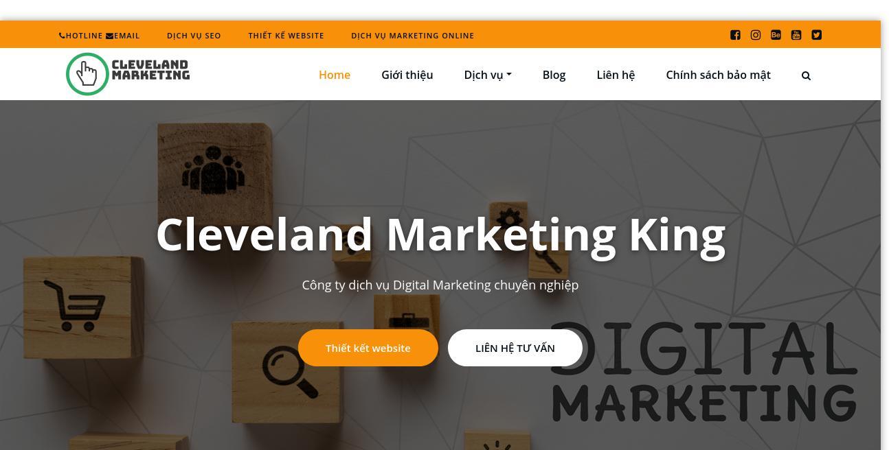 Cleveland Marketing King website