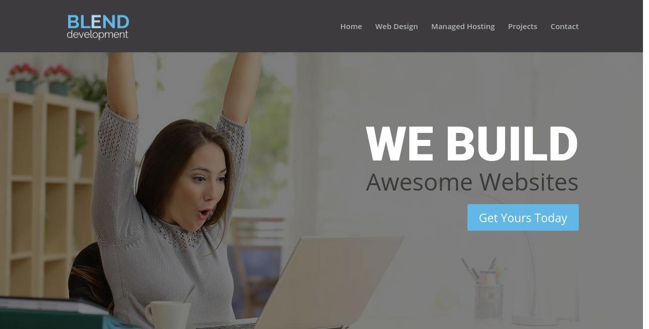 Blend Development website