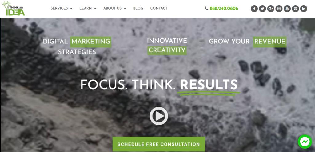 i think an idea website